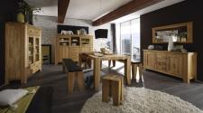 Obývací a jídelní nábytek LOFT_divoký dub natur masiv_obr. 12
