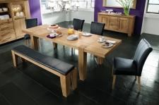 Obývací a jídelní nábytek LOFT_divoký dub natur masiv_obr. 13