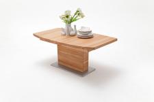 Jídelní stůl LORENZO_buk kořenový masiv_zaoblená stolní deska_obr. 3