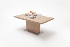 Jídelní stůl LORENZO_dub bělený masiv_rovná stolní deska_obr. 7