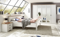 Ložnicový nábytek JASPER_5-dv. šatní skříň + postel 180x200 cm + 2x noční stolek_obr. 2