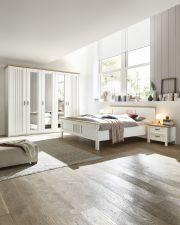 Ložnicový nábytek TRENTO_ šatní skříň 5-ti dveřová + postel + 2x noční stolek_ obr. 3
