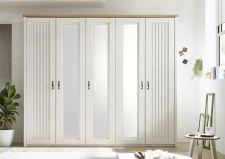 Ložnicový nábytek TRENTO_ šatní skříň 5-ti dveřová_ čelní pohled_ obr. 4