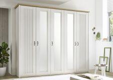 Ložnicový nábytek TRENTO_ šatní skříň 5-ti dveřová_ šikmý pohled_ obr. 6