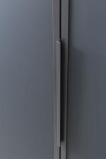 Ložnicová sestava GENOVA _detail lakovaného skla Anthrazit matt _obr. 11