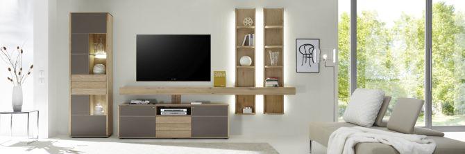 Luxusná obývacia stena ALIVIO