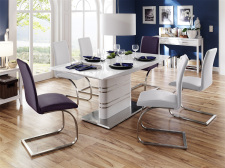Jídelní židle MALAGA I + II v interieru_obr. 6