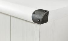 Předsíňový nábytek MARINE_detail kovového krytu rohu_obr. 8
