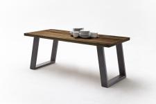 Jídelní stůl MAURO_dub schoko_podnoží lak ANTIK antracit_obr. 12