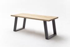 Jídelní stůl MAURO_dub přírodní_podnoží lak ANTIK antracit_obr. 13
