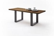 Jídelní stůl MAURO_dub schoko_podnoží lak ANTIK antracit_obr. 14