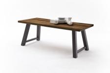 Jídelní stůl MAURO_dub schoko_podnoží lak ANTIK antracit_obr. 19