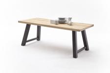 Jídelní stůl MAURO_dub přírodní_podnoží lak ANTIK antracit_obr. 20
