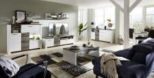 Obývací nábytek MESSINA_sestava 10 G4 WD 82 + sideboard typ 20 + konf. stůl typ 20 G4 WD 02 + jídelní stůl 20 G4 WD 01_obr. 4