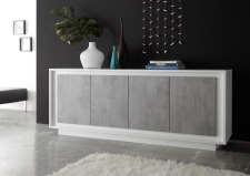 Sideboard MONDE 201793-08C_bílý matný lak-beton_obr. 6