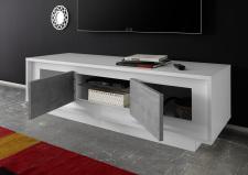 TV-element MONDE 201793-01C_bílý matný lak-beton_otevřený_obr. 22