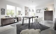 MONZA_jídelna_Lowboard + highboard + jídelní stůl 189 cm