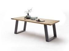 Jídelní stůl MULTI TABLE_dub bělený_podnož lak ANTIK antracit_obr. 7