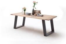 Jídelní stůl MULTI TABLE_dub bělený_podnož lak ANTIK antracit_obr. 9