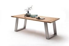 Jídelní stůl MULTI TABLE_dub divoký_podnož nerez broušená_obr. 10