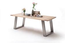 Jídelní stůl MULTI TABLE_dub bělený_podnož nerez broušená_obr. 11
