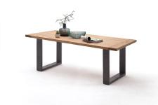Jídelní stůl MULTI TABLE_dub divoký_podnož lak ANTIK antracit_obr. 12