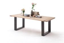 Jídelní stůl MULTI TABLE_dub bělený_podnož lak ANTIK antracit_obr. 13