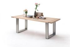 Jídelní stůl MULTI TABLE_dub bělený_podnož nerez broušená_obr. 15