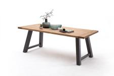 Jídelní stůl MULTI TABLE_dub divoký_podnož lak ANTIK antracit_obr. 16