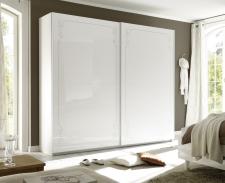 Šatní skříň s posuvnými dveřmi MUSA_šířka 240 cm_sítotisk