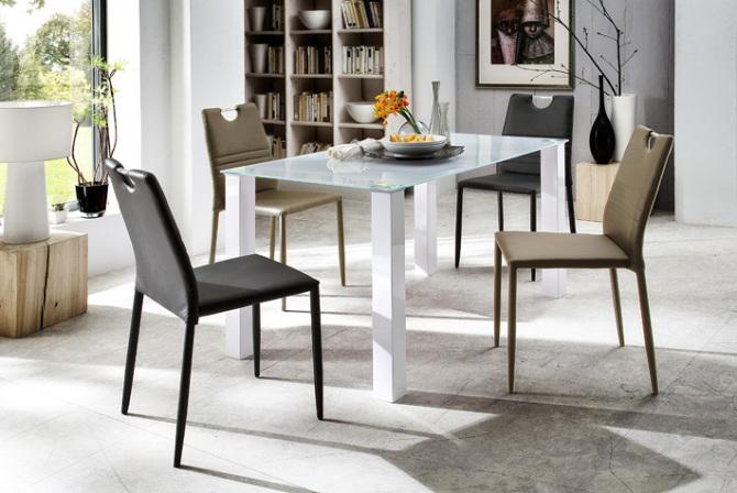 Jídelní židle NISA v interieru_obr. 1