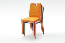 Jídelní židle NISA_stohování na sebe_obr. 4