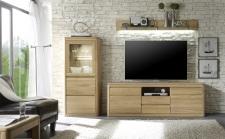 Obývací nábytek DENVER_sestava 911_dub bianco masiv