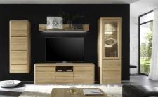 Obývací nábytek DENVER_sestava 932_dub bianco masiv