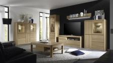 Obývací nábytek DENVER_sestava 953_highboard 870_konferenční stůl T64_dub bianco masiv
