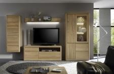 Obývací nábytek DENVER_sestava 972_dub bianco masiv