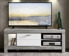 Obývací a jídelní nábytek GRACE white _ TV - spodní díl 40 54 3W 30_  čelní pohled_ obr. 20