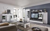 Obývací nábytek GRENADA_ sestava 10 E9 WT 81 + highboard 22 + konferenční stůl 29 E9 WT 02_ obr. 1