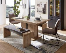 Obývací a jídelní nábytek LAMIA graphite _ jídelní stůl 20 J4 GH 01 + 2x lavice 20 J4 GH 03 _obr. 9