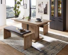 Obývací a jídelní nábytek LAMIA graphite _ jídelní stůl 20 J4 GH 01 + 2x lavice 20 J4 GH 03 _ varianta_ obr. 10