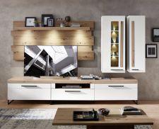 Obývací a jídelní nábytek LAMIA white _sestava 10 J4 WH 80_čelní pohled _obr. 4