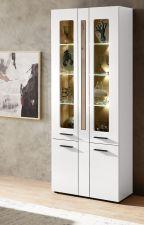 Obývací a jídelní nábytek LAMIA white _ vitrina 10 J4 WH 03 _obr. 8