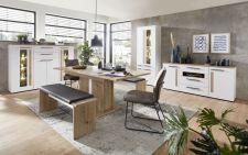 Obývací a jídelní nábytek LAMIA white _ jídelna 4 _obr. 14