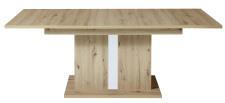Jídelní stůl LAMIA 20 J4 WH 01_ čelní pohled_ rozložený_ obr. 47