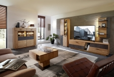 Obývací a jídelní nábytek LAUSANNE_sestava 45 65 HH 92 + highboard 22 + konferenční stůl 20 65 HH 02_obr. 1