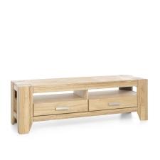 Masivní nábytek LOFT_TV lowboard typ 19_šikmý pohled