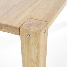 Masivní nábytek LOFT_jídelní stůl_detail 2