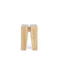 Masivní nábytek LOFT_taburet-stolička typ 57_čelní pohled