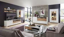 Obývací nábytek NIZZA _ob, sestava 10 G8 WF 81 + sideboard 20 + vitrina 03 + konferenční stůl 20 G8 WF 02_obr. 1