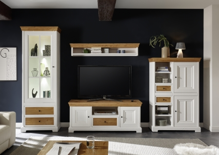 Obývací a jídelní nábytek PALLADIUM_obývací sestava 40 11 06_LED osvětlení volitelné_obr. 4